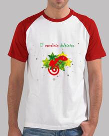 camaleon daltonico, Hombre, estilo béisbol, blanca y roja