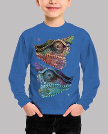 camaleones (trencadís)