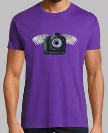 Cámara-ojo con alas