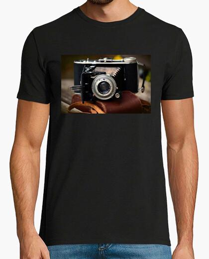 Camiseta Cámara antigua