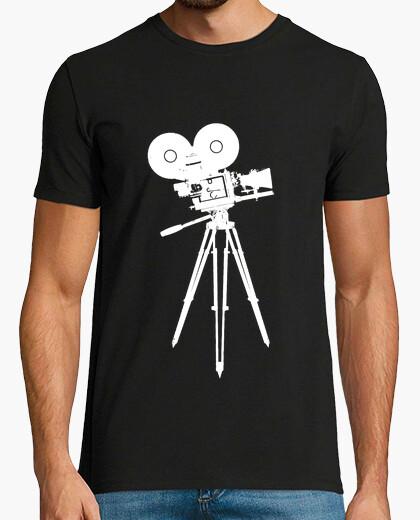 Camiseta cámara de cine 35 mm