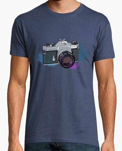 Camiseta Cámara de Fotos Réflex - Pentax