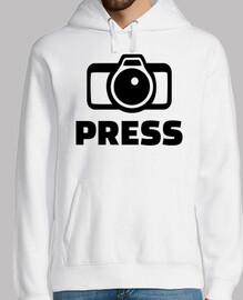 cámara de prensa