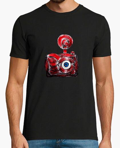 Camiseta Cámara fotográfica humana