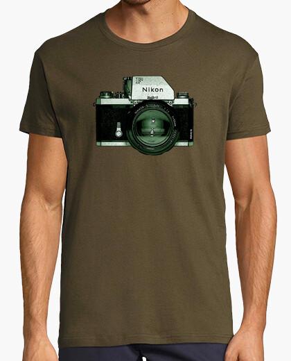 Camiseta cámara nikon