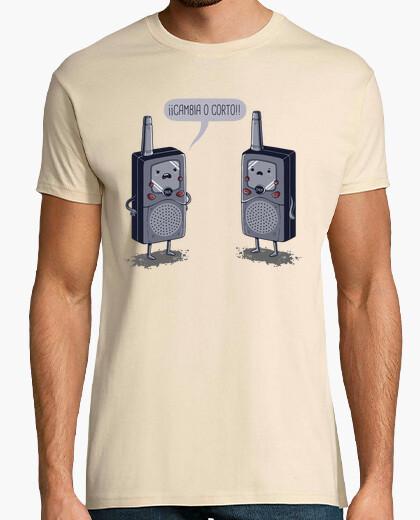 Camiseta Cambia o corto