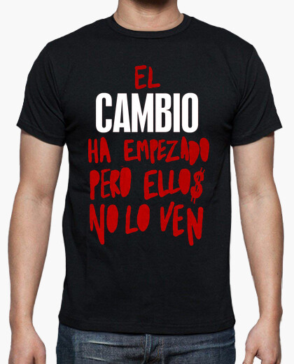 Camiseta Cambio Spanish Revolution