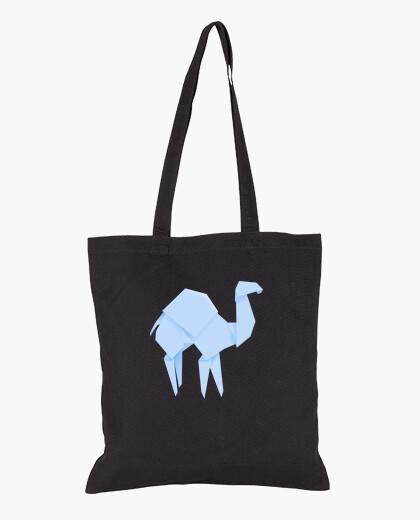 Camello azul. Puedes aplicarlo sobre bolsa...