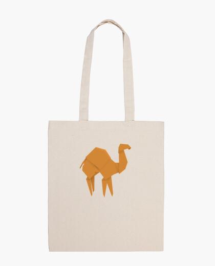 Camello naranja. Puedes aplicarlo sobre bolsa de tela color natural o negro