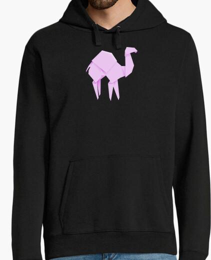 Camello rosa. Aplícalo sobre diferentes colores de sudadera con y sin capucha.