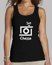 Camera-Say Chesse white