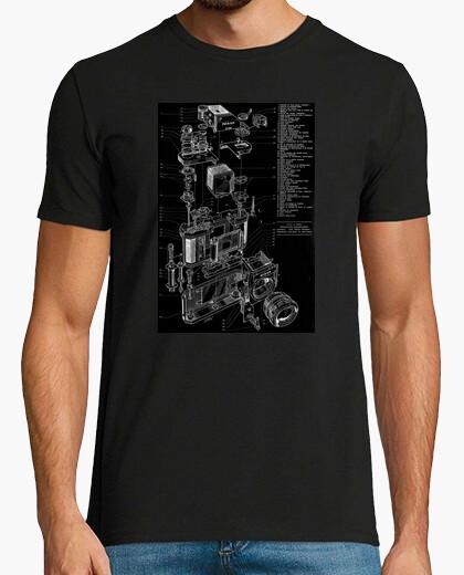 Camiseta Camera Diagram