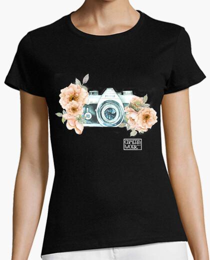 Camiseta Camera Flower
