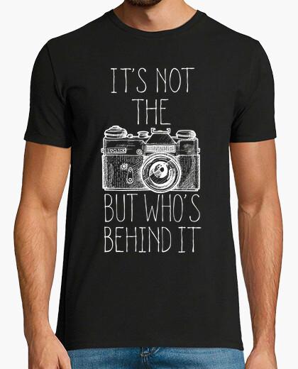 Camiseta Camera white ink