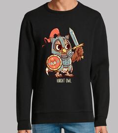 camicia da guerriero da cavaliere gufo