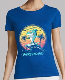 camicia da uomo shredder