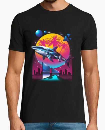 T-shirt camicia da uomo squalo rad
