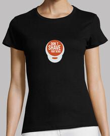 camicia girls dont radersi la barba