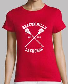 camicia lacrosse teenwolf con il numero di stilinski