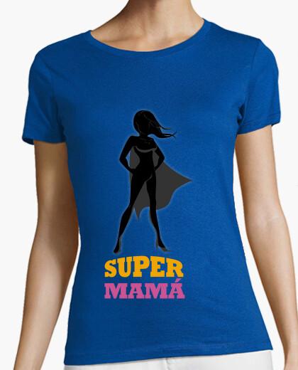 T-shirt camicia per le madri supermom