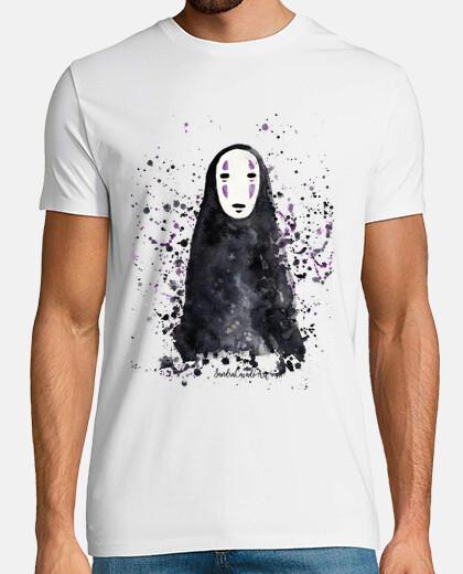 camicia uomo con senza volto spirited away