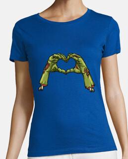 Camicia zombie donna amore