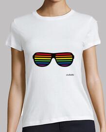 camicie per lesbiche: gay pride bandiera occhiali