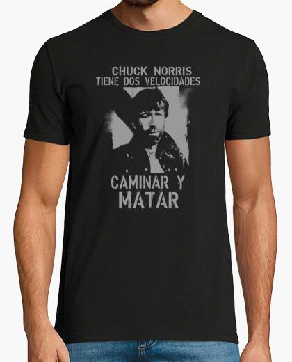 Camiseta Caminar y Matar