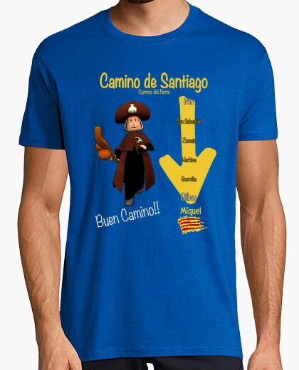 Camiseta Camino Santiago Miquel