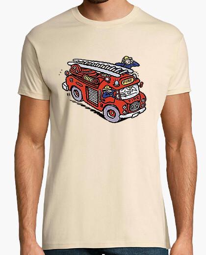 Camiseta Camión de Bomberos