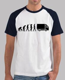 camión de la evolución