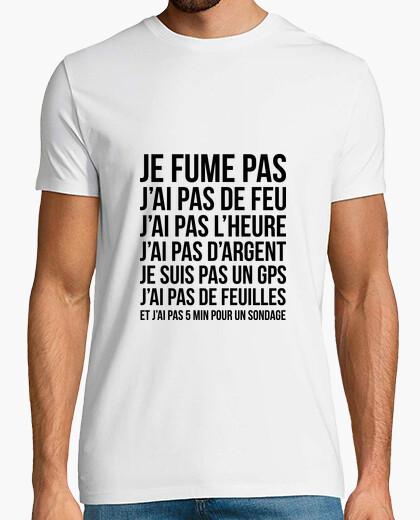 Camiseta Camisa anti-anti-chupa crevard / humor