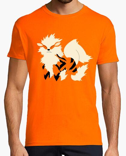 Camiseta camisa arcanine