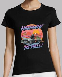 camisa carretera al infierno para mujer