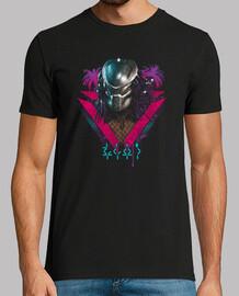 camisa cazadora alienígena para hombre