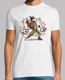 camisa chatarra kacchan para hombre
