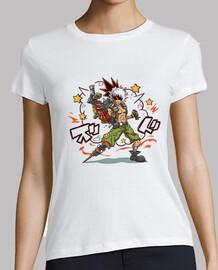 camisa chatarra kacchan para mujer