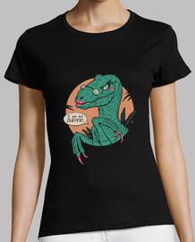 camisa chica inteligente para mujer