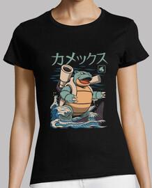 camisa de agua kaiju para mujer