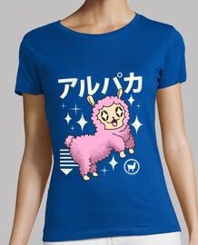 camisa de alpaca kawaii para mujer