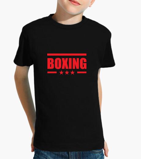 Ropa infantil camisa de boxeo