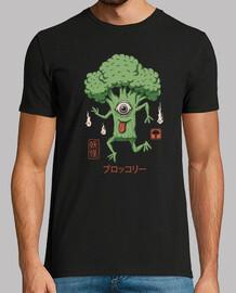 camisa de brócoli yokai para hombre