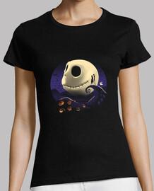 camisa de calabazas y pesadillas para mujer