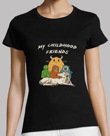 camisa de club de amigos imaginarios para mujer