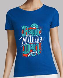 Camisa de día de la mujer feliz de la madre