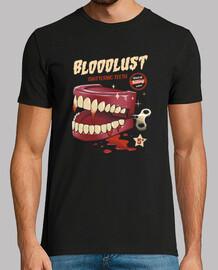 camisa de dientes asesino de liquidación para hombre