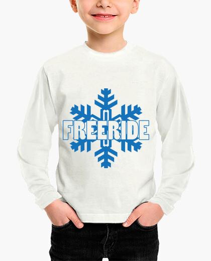 Ropa infantil camisa de esquí - snowboard - montaña