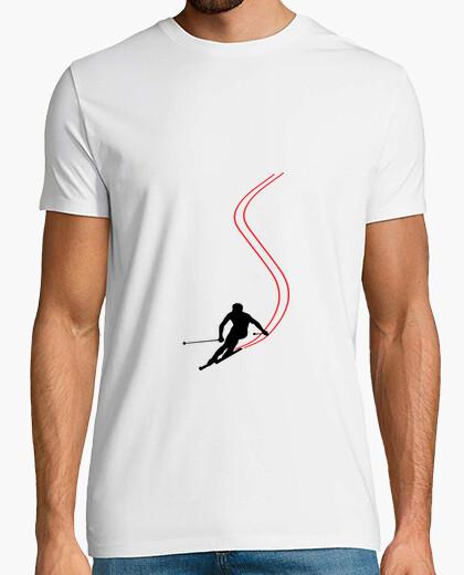 Camiseta camisa de esquí - snowboard - montaña