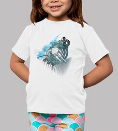 camisa de esquí infantil