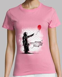 camisa de graffiti para mujer